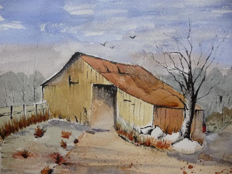 Autumnal Barn