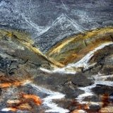 Landscape Chalk and Charcoal