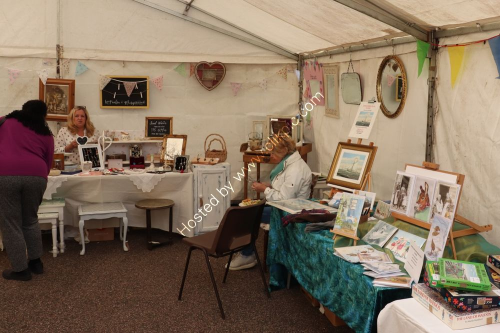 Stalls in the Marquee