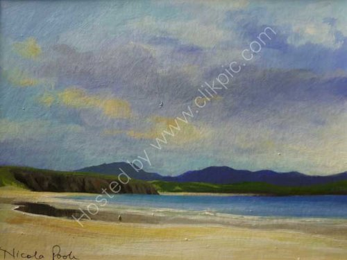 2nd beach Balnakeil [acrylic]