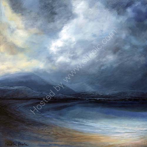 Balnakeil Bay storm