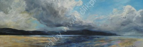 Balnakeil bay [large oil]