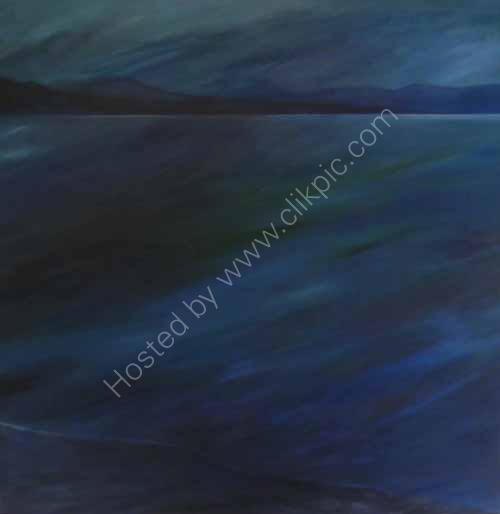 Blue twilight Loch Eribol