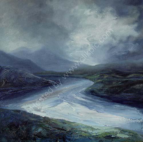 Storm over Foinaven