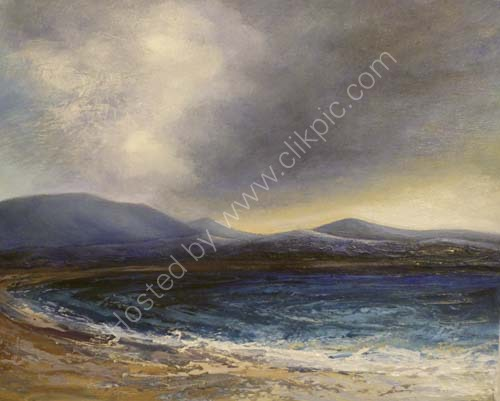 Balnakeil bay [small oil]
