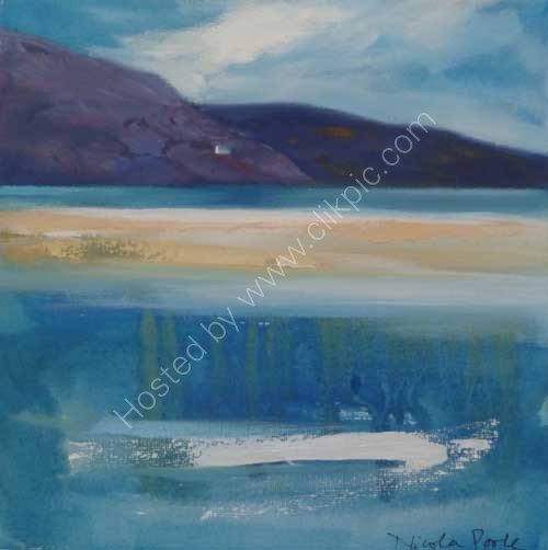 Cape Wrath Ferry house [small oil]