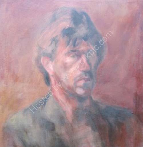 oil portrait 2. 1987