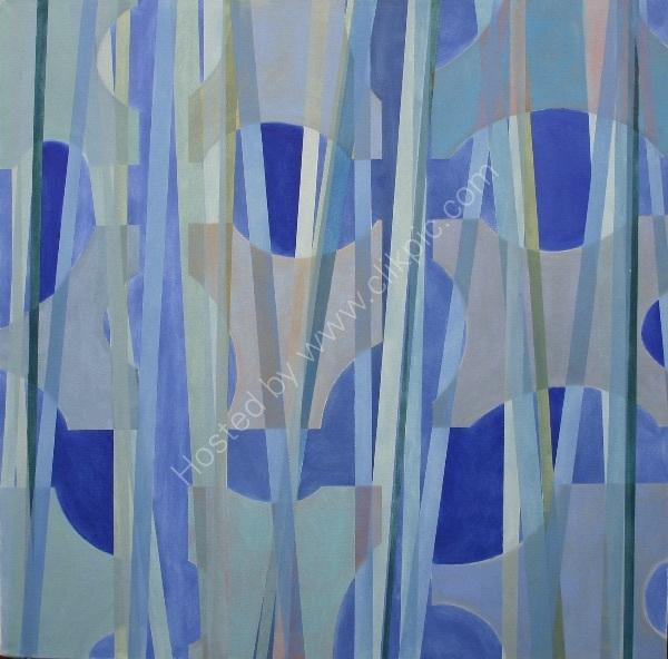 Blue Cutouts