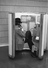 Man In Phonebooth