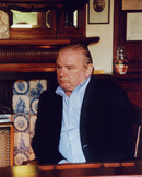 Peter Ackroyd. Historian,writer & broadcaster.