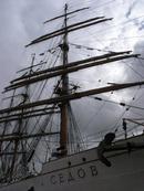 Russian ship 'Sedov' at Chatham Maritime Dockyard