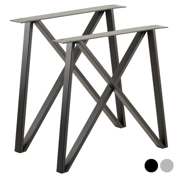 double cross legs for tables and benches