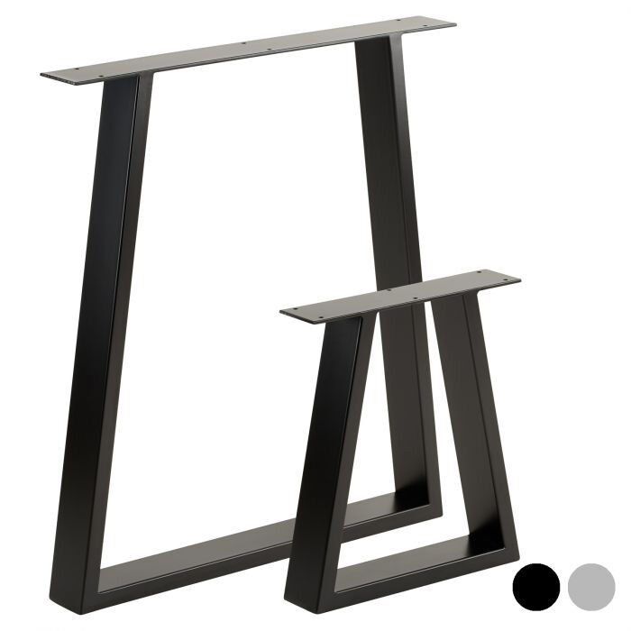 trapezium legs for tables and benches