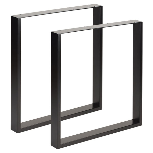 square industrial legs for tables and benches