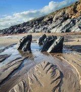 BC beach rocks