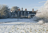 Seighford Hall in Mid Winter