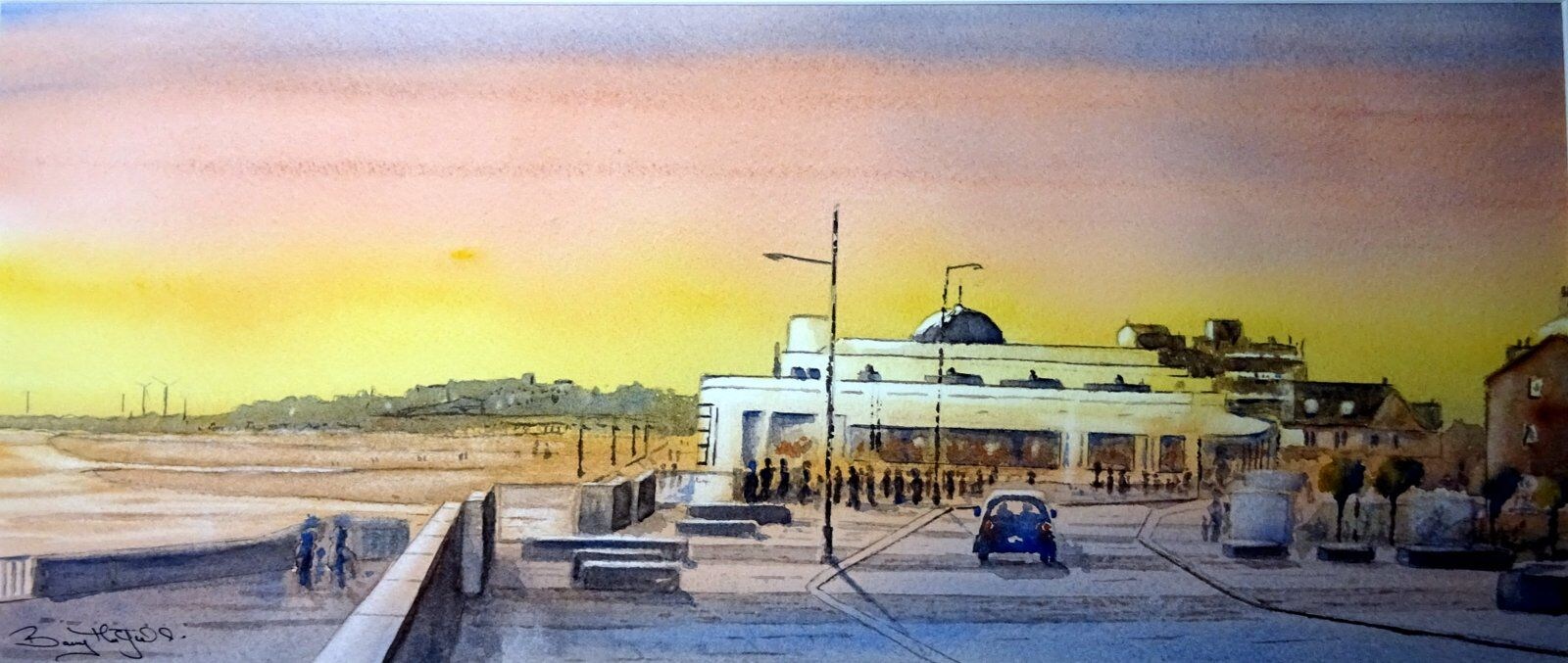 Bridlinton Spa ...Sunset