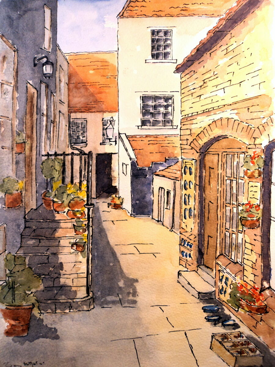 The old Pottery Shop WHITBY