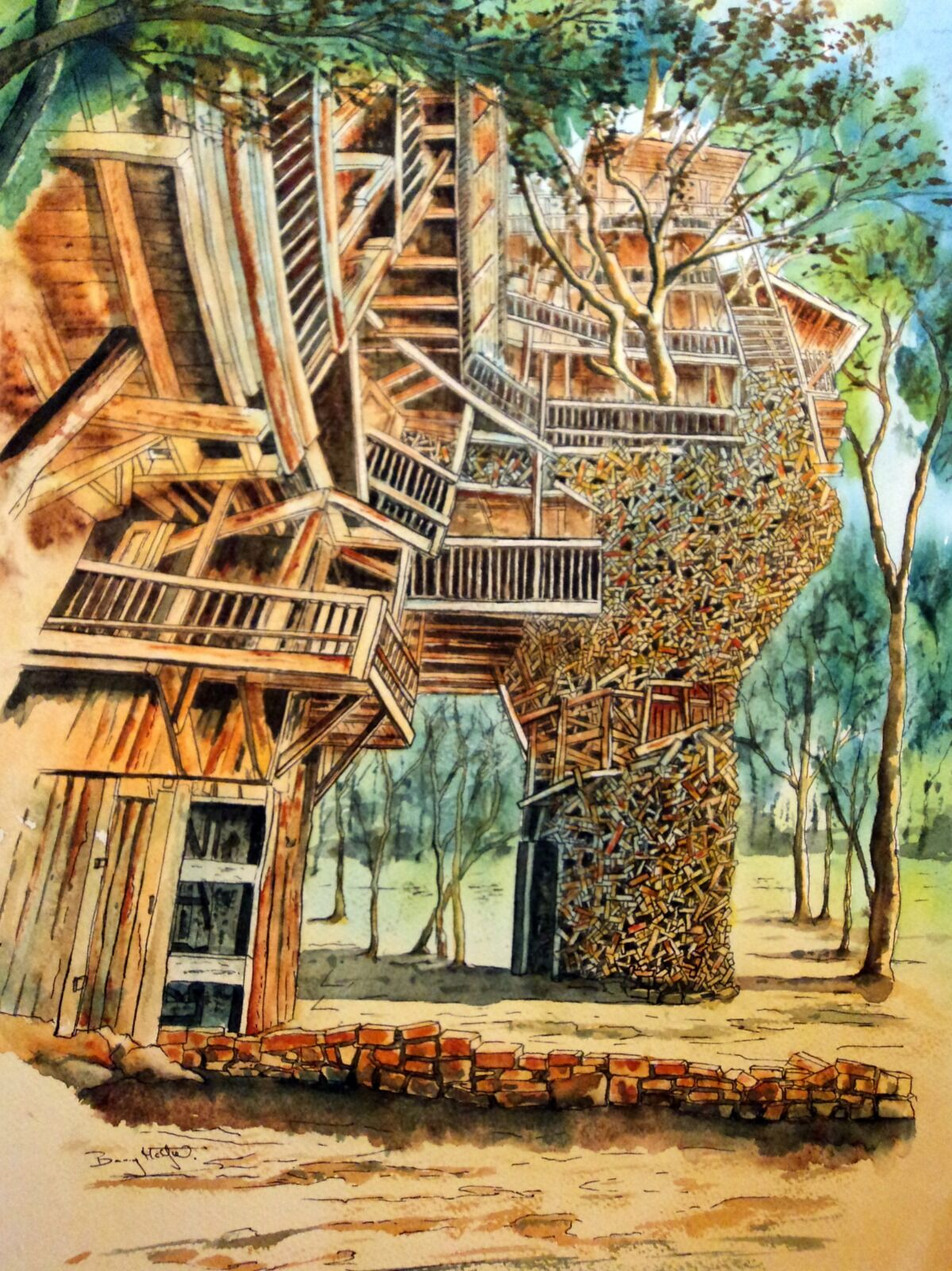 Horace Burgess's Tree House