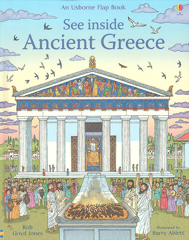 See Inside Ancient Greece. © Usborne Publishing.
