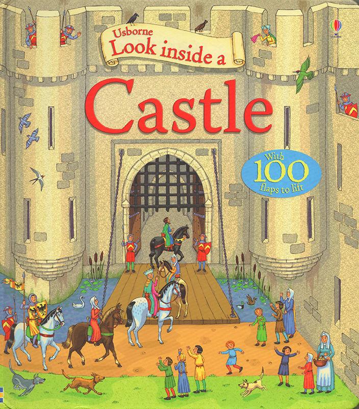 Look Inside a Castle. © Usborne Publishing.