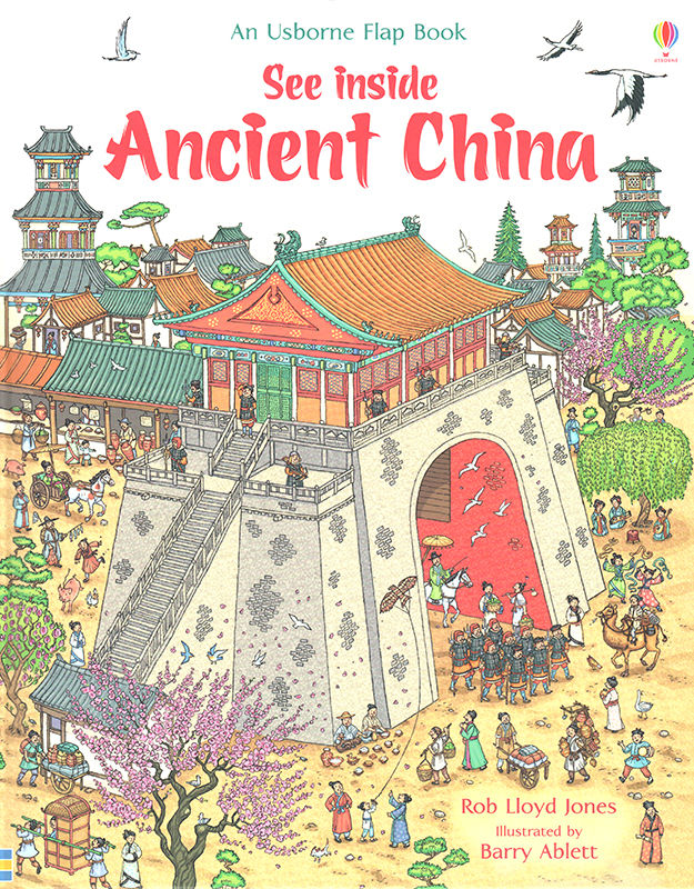 See Inside Ancient China. © Usborne Publishing.