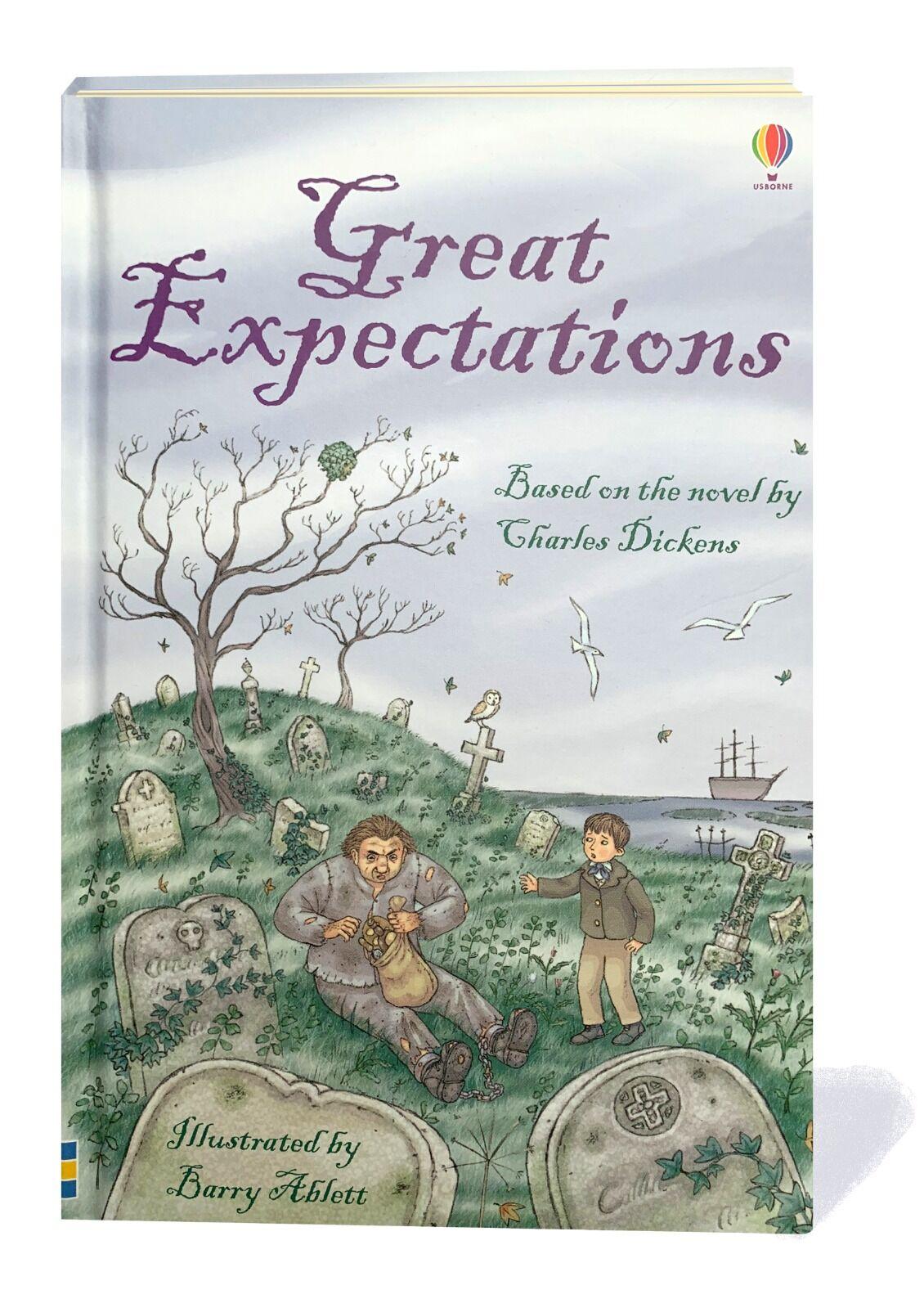 Great Expectations. © Usborne Publishing.