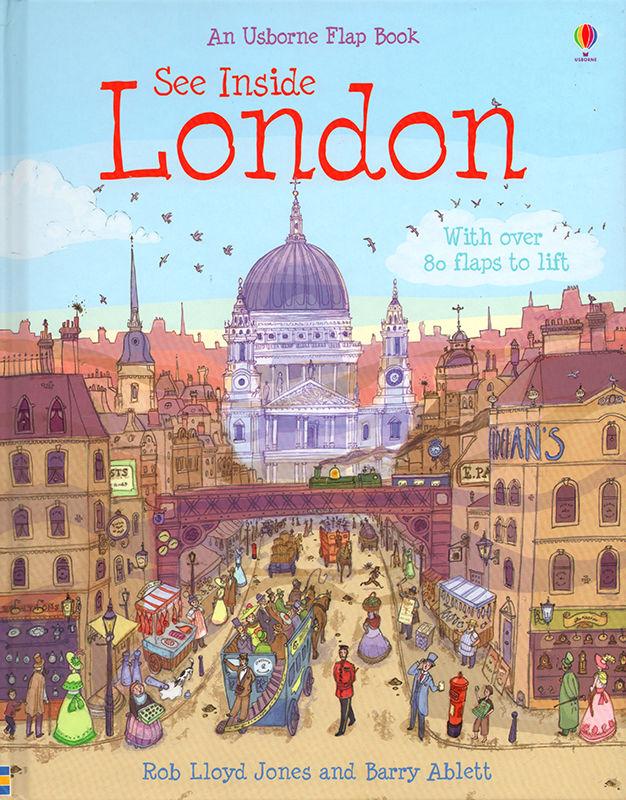 See Inside London. © Usborne Publishing.