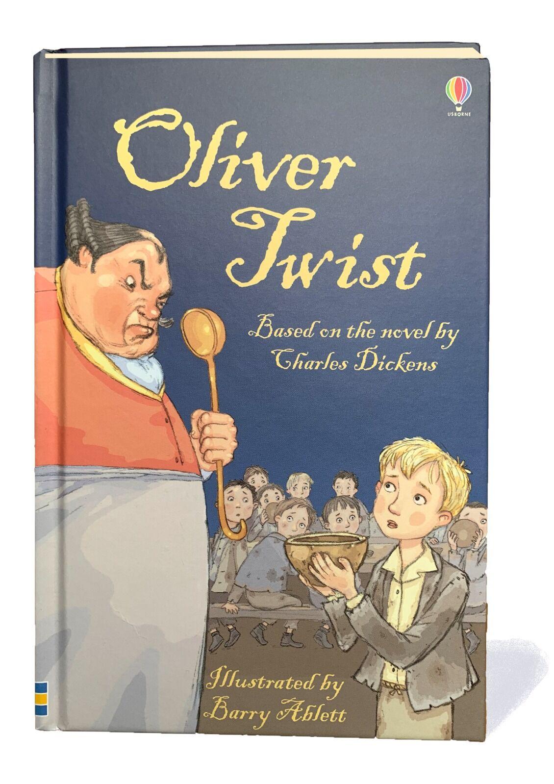 Oliver Twist. © Usborne Publishing.