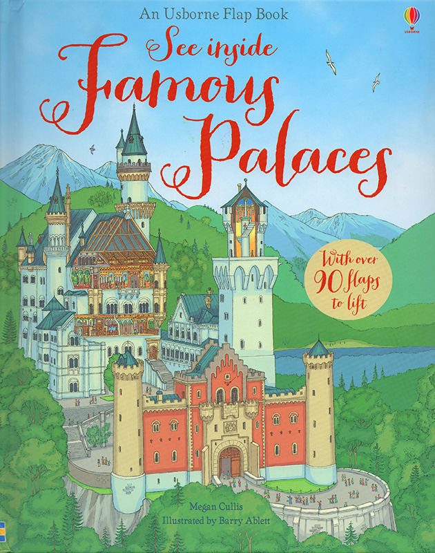 See Inside Famous Palaces. © Usborne Publishing.
