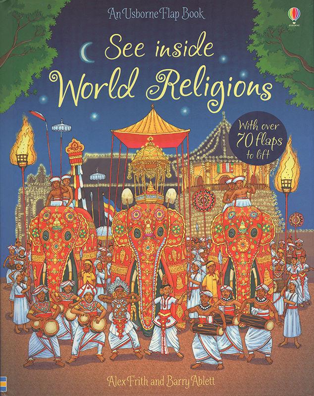 See Inside World Religions. © Usborne Publishing.