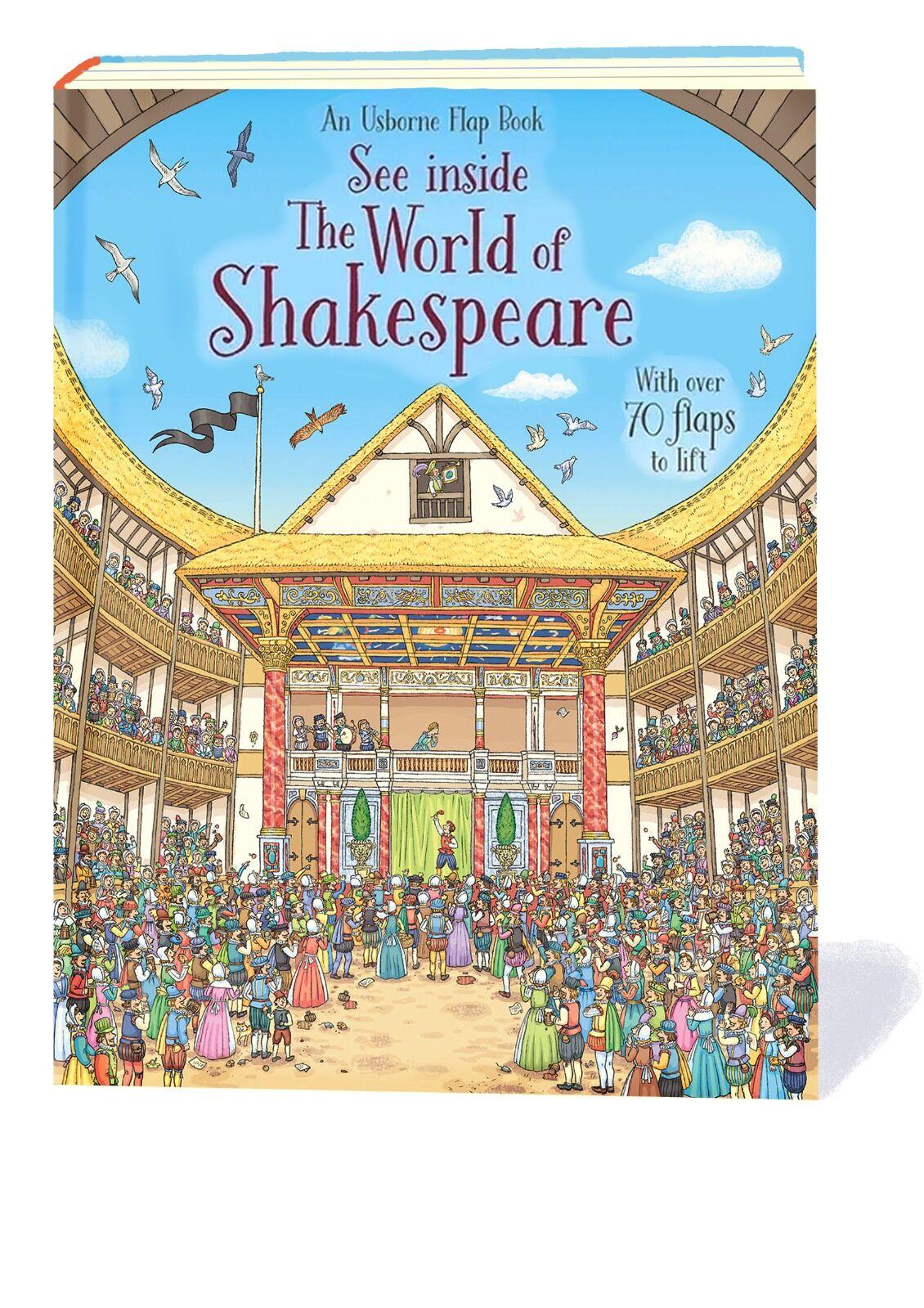 See Inside The World of Shakespeare. © Usborne Publishing.
