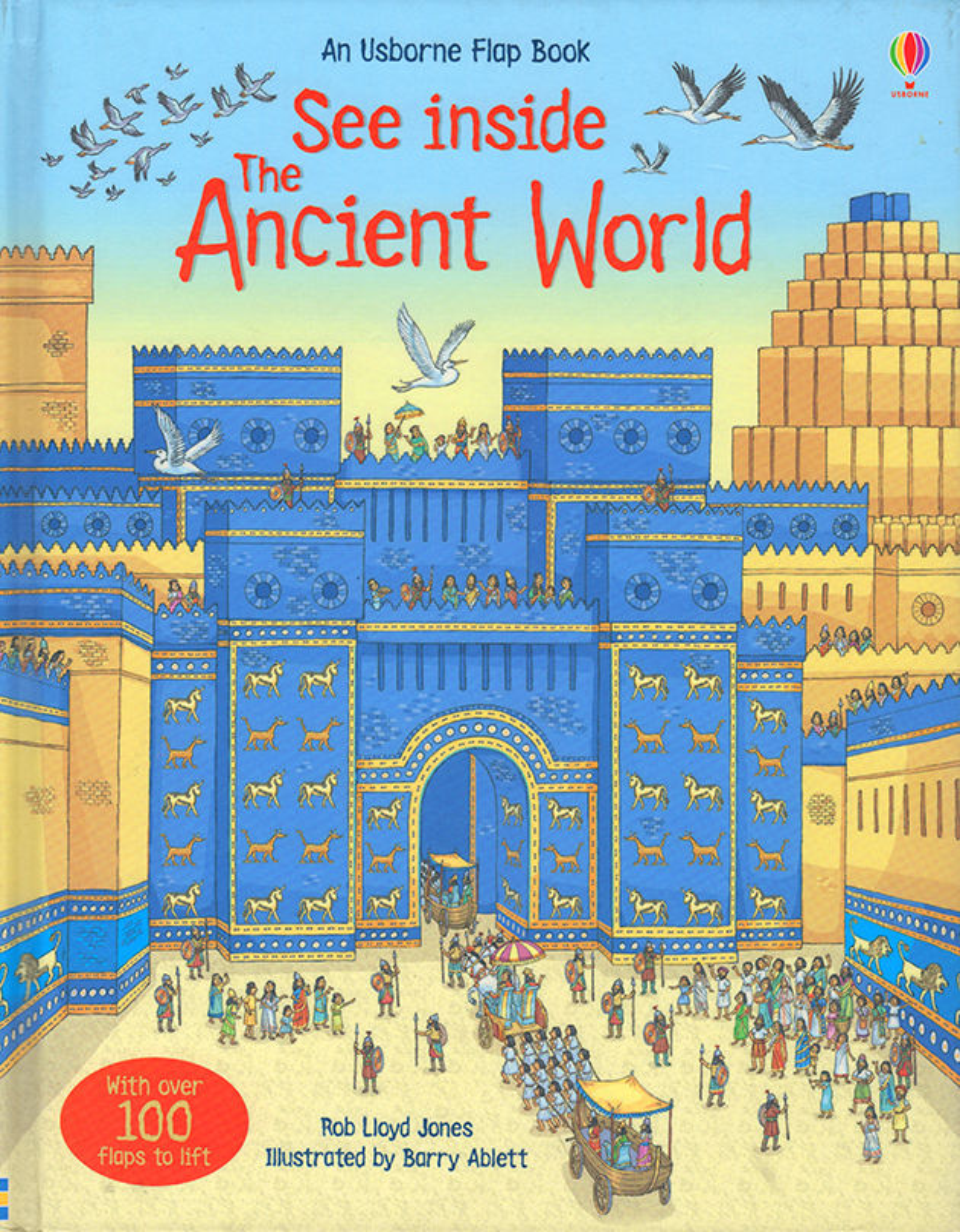 See Inside The Ancient World. © Usborne Publishing.
