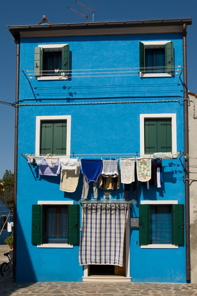 Burano Blue House