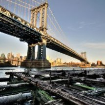 Brooklyn Bridge & Pier