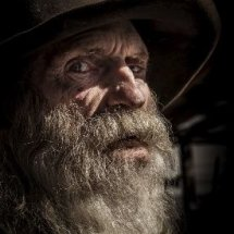 Don Robertson, Ghost town owner. TPOTY Finalist photograph