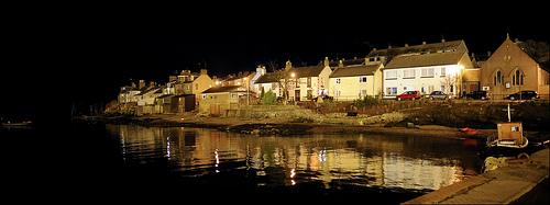 Ferryden at Night