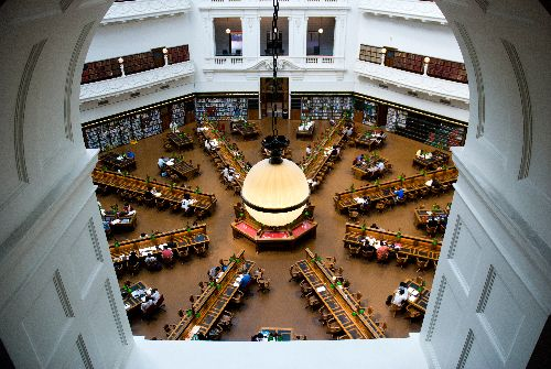 State Libary Melbourne