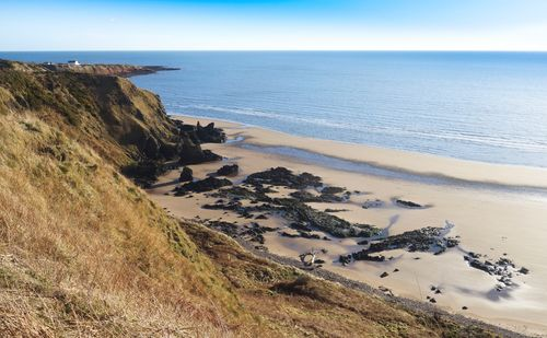 St Cyrus Beach Looking North
