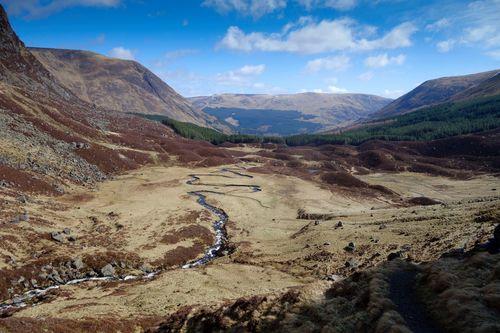 Corrie Fee, Glen Clova, Angus, Scotland.