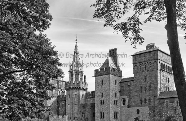 Cardiff Castle Towers