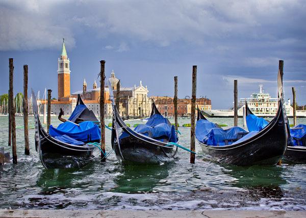 Three Gondolas