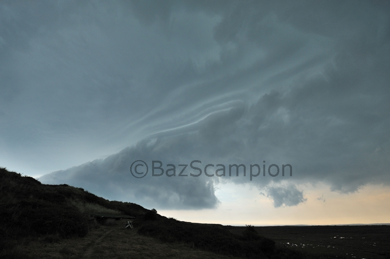 Storm over the Hut