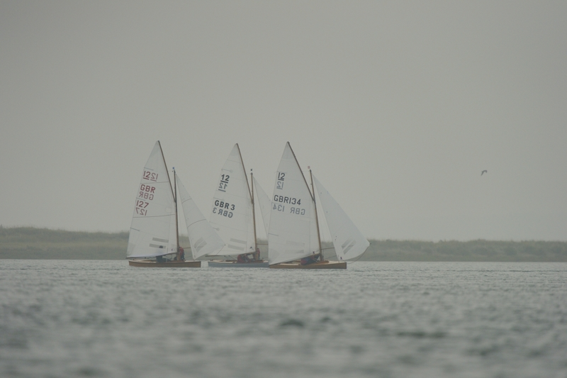GBR and Dutch Sharpies in full sail
