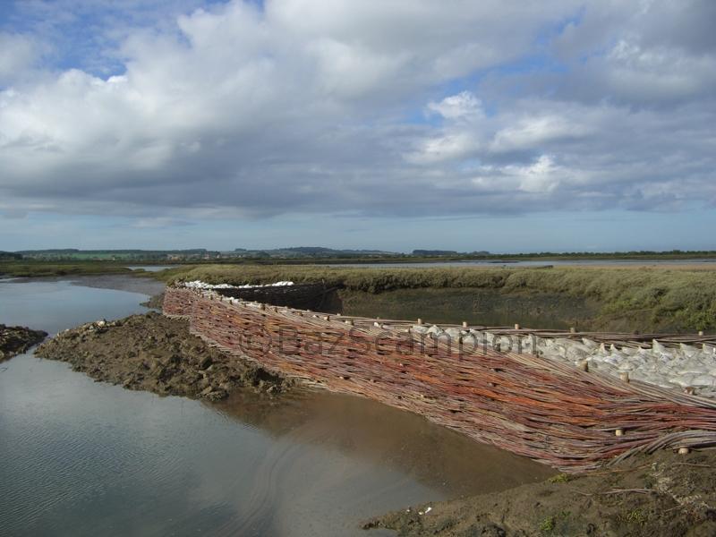 Erosion Control at Burnham Overy Staithe