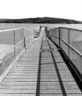 Pier at Keilder Water, Northumberland