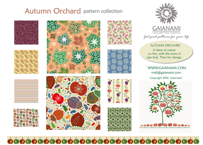 Autumn Orchard collection 2018