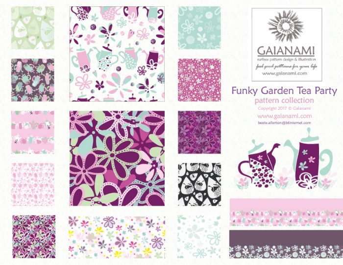 Garden Tea Party Collection