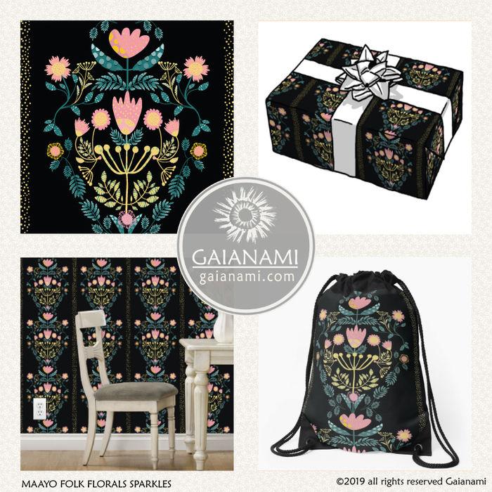 Maayo Folk Florals V2