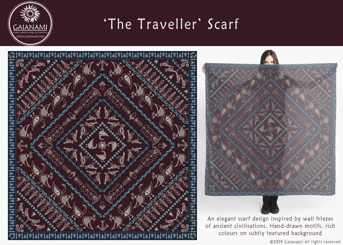 The Traveller Scarf